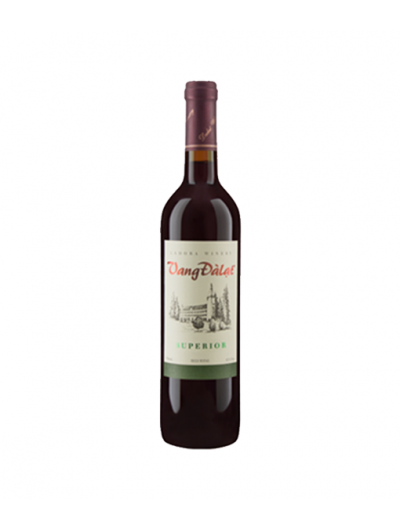 VANG ĐÀ LẠT  SUPERIOR RED WINE 750ML