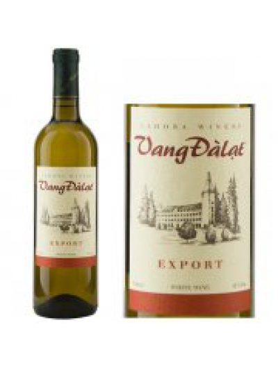 VANG ĐÀ LẠT  EXPORT RED&WHITE WINE 750ML